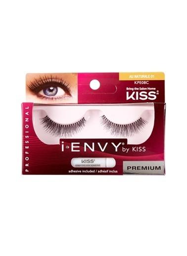 Kiss  I-Envy 16Hr Strip Lash Au Naturale 01 Renksiz